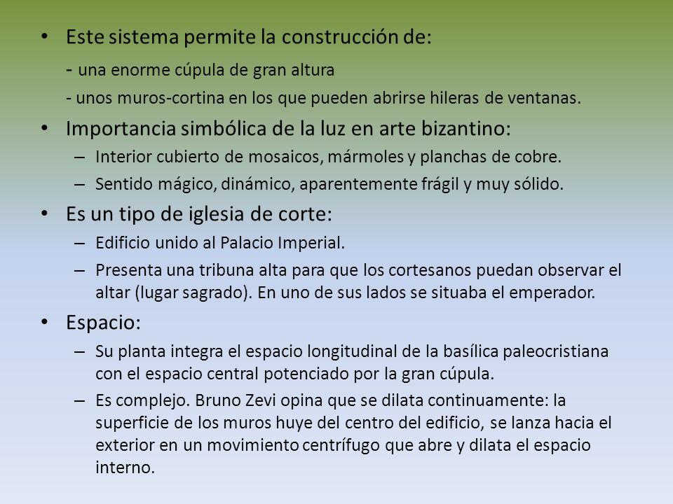 Este sistema permite la construcción de: