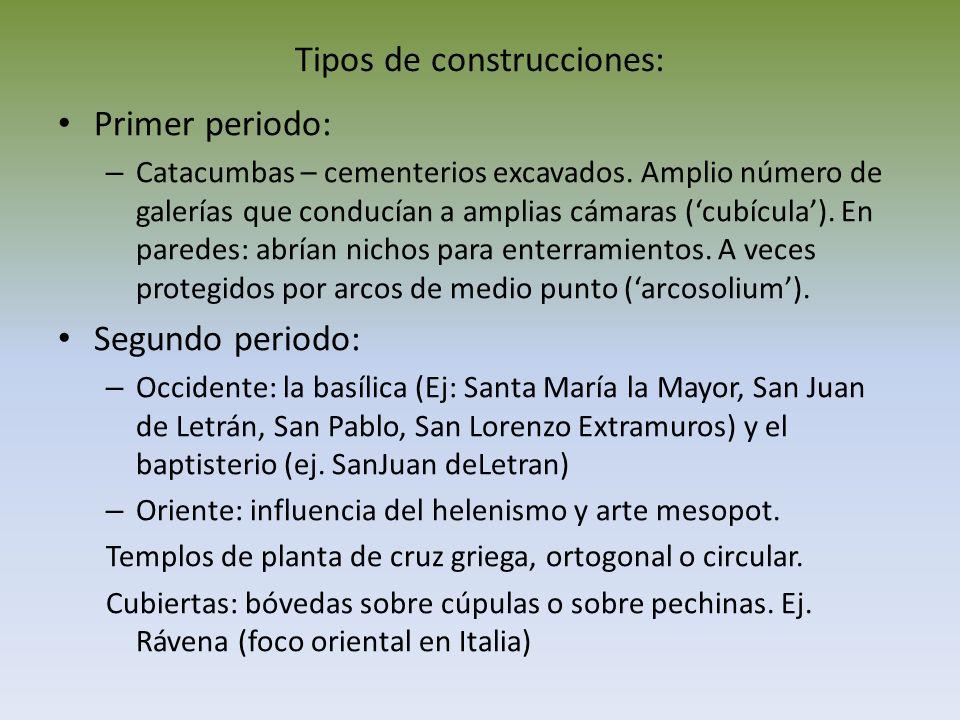 Tipos de construcciones: