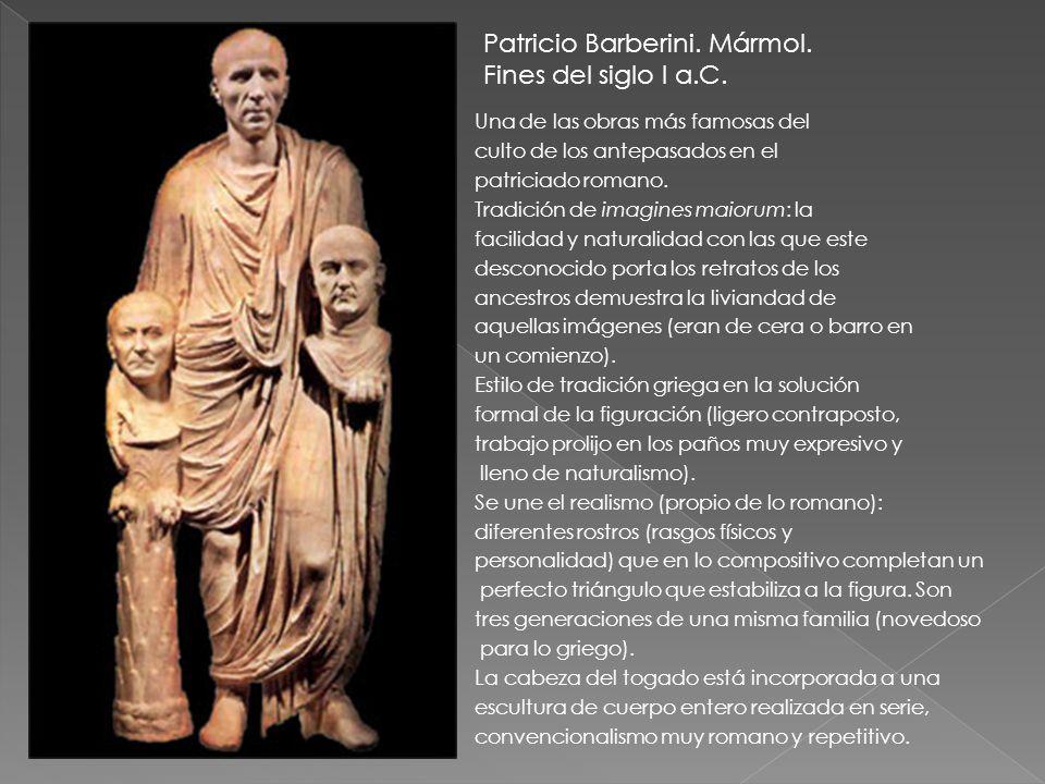Patricio Barberini. Mármol. Fines del siglo I a.C.