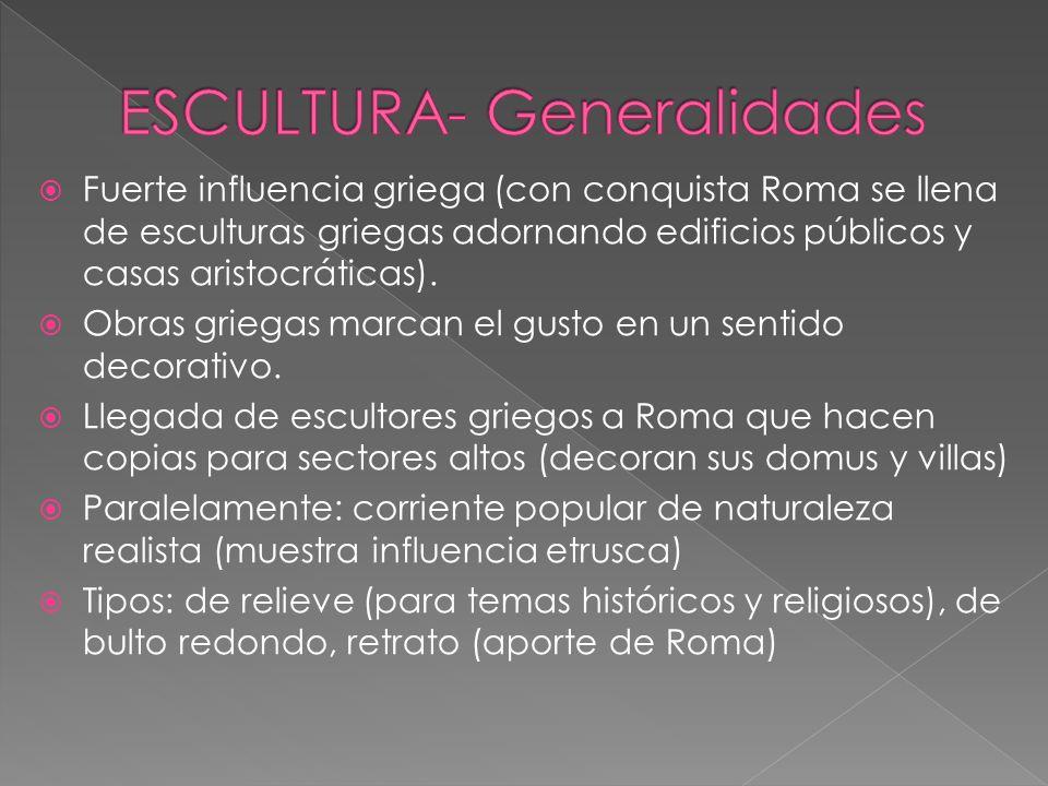 ESCULTURA- Generalidades