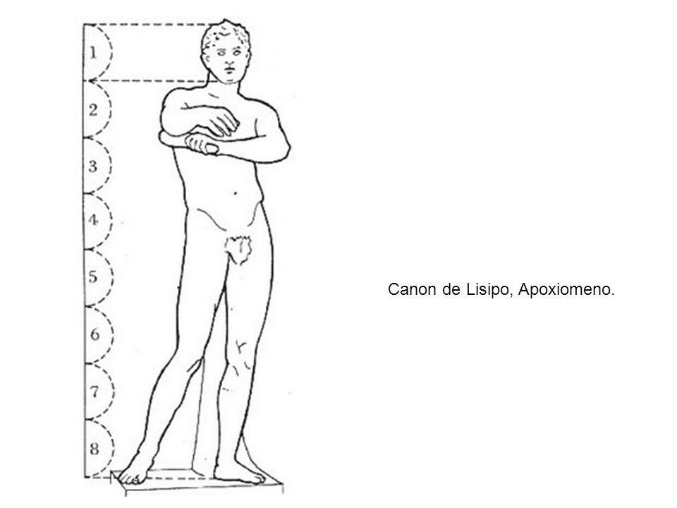 Canon de Lisipo, Apoxiomeno.