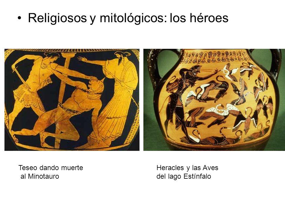Religiosos y mitológicos: los héroes
