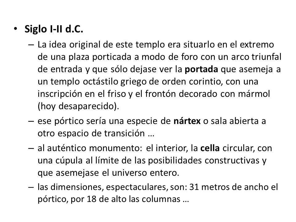 Siglo I-II d.C.
