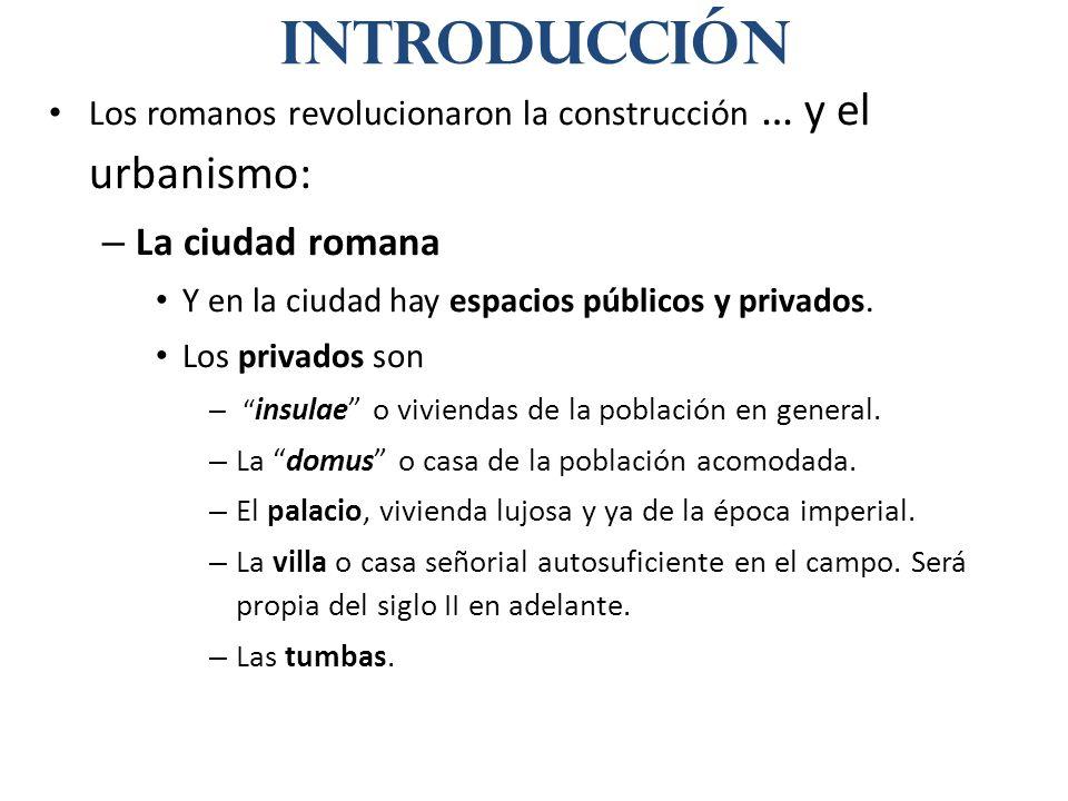 Introducción La ciudad romana