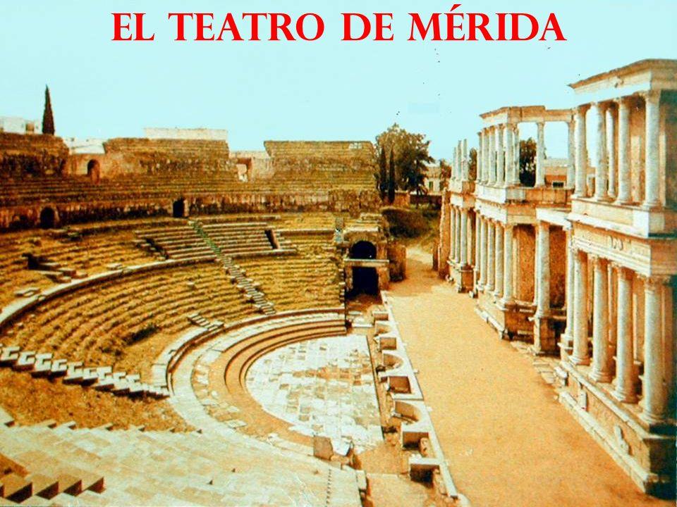 el teatro de Mérida