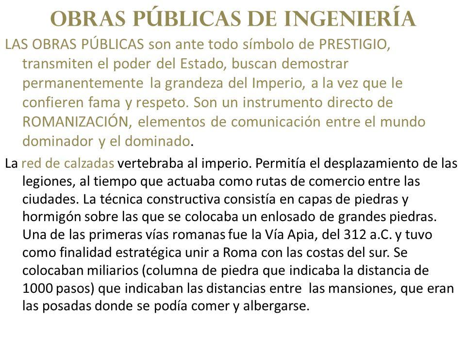 OBRAS PÚBLICAS DE INGENIERÍA