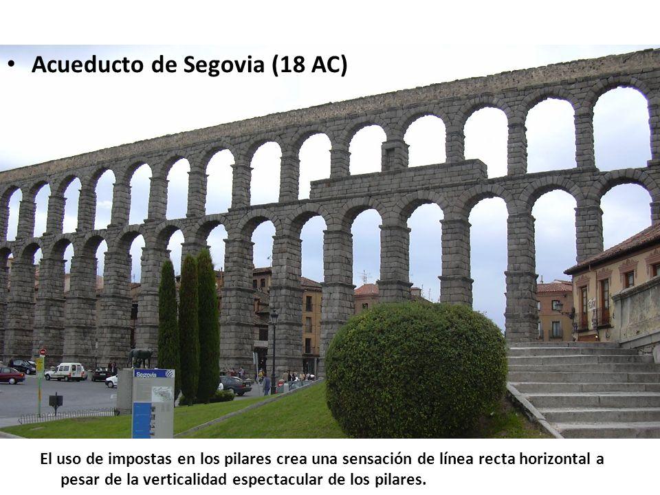 Acueducto de Segovia (18 AC)