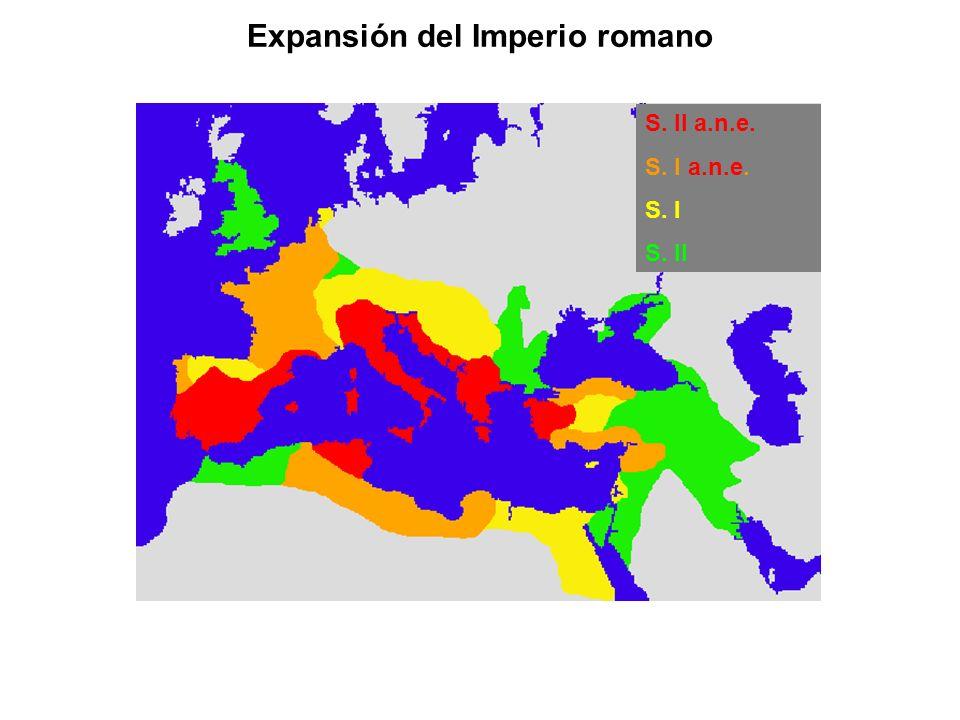 Expansión del Imperio romano