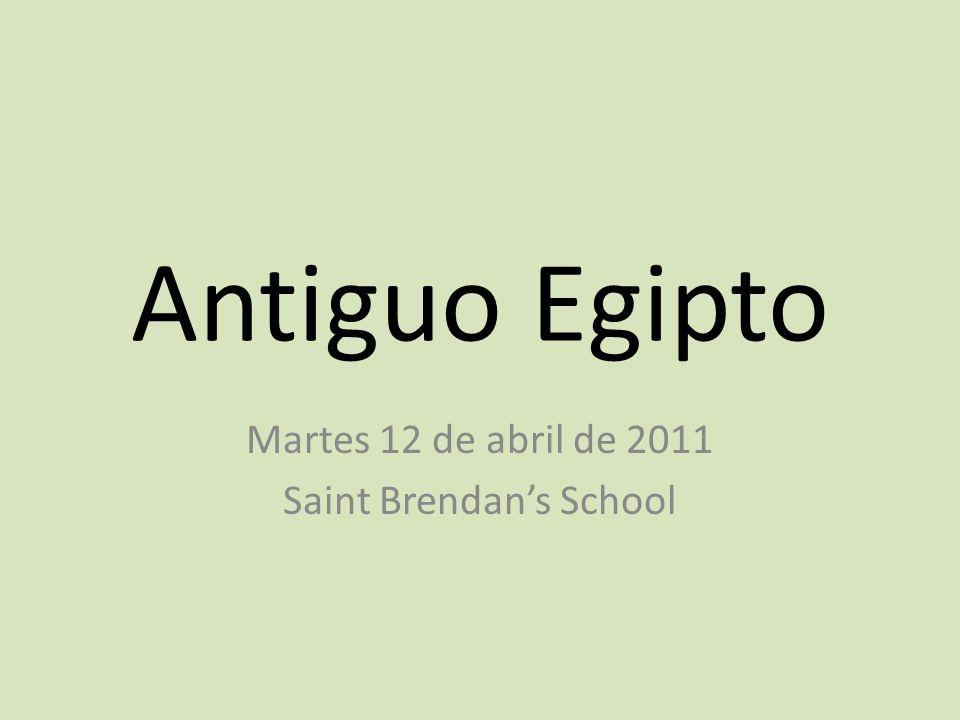 Martes 12 de abril de 2011 Saint Brendan's School