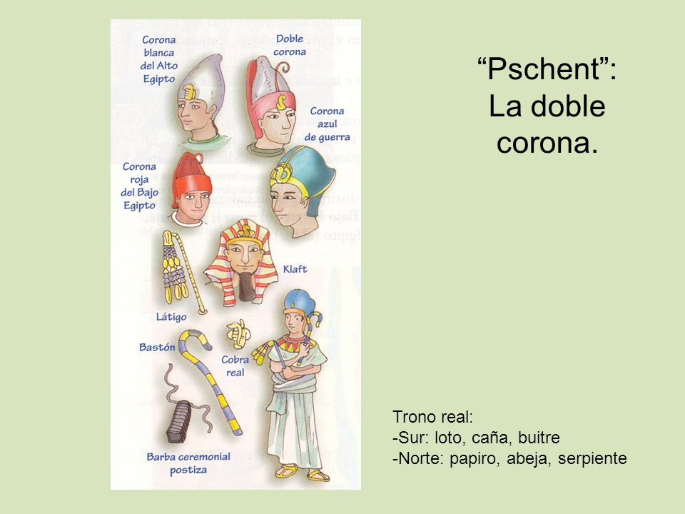 Pschent : La doble corona.
