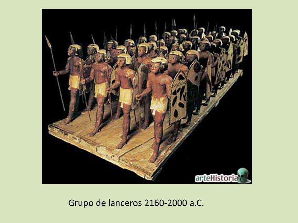 Grupo de lanceros 2160-2000 a.C.