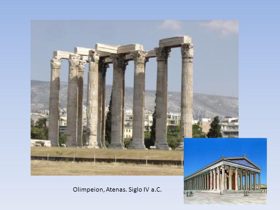 Olimpeion, Atenas. Siglo IV a.C.