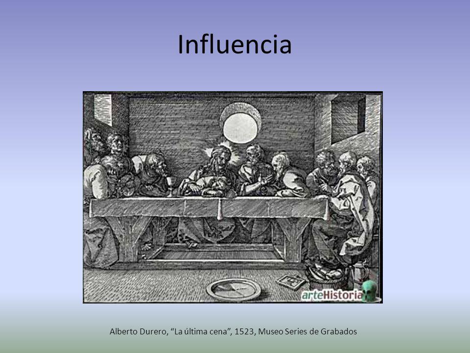 Alberto Durero, La última cena , 1523, Museo Series de Grabados