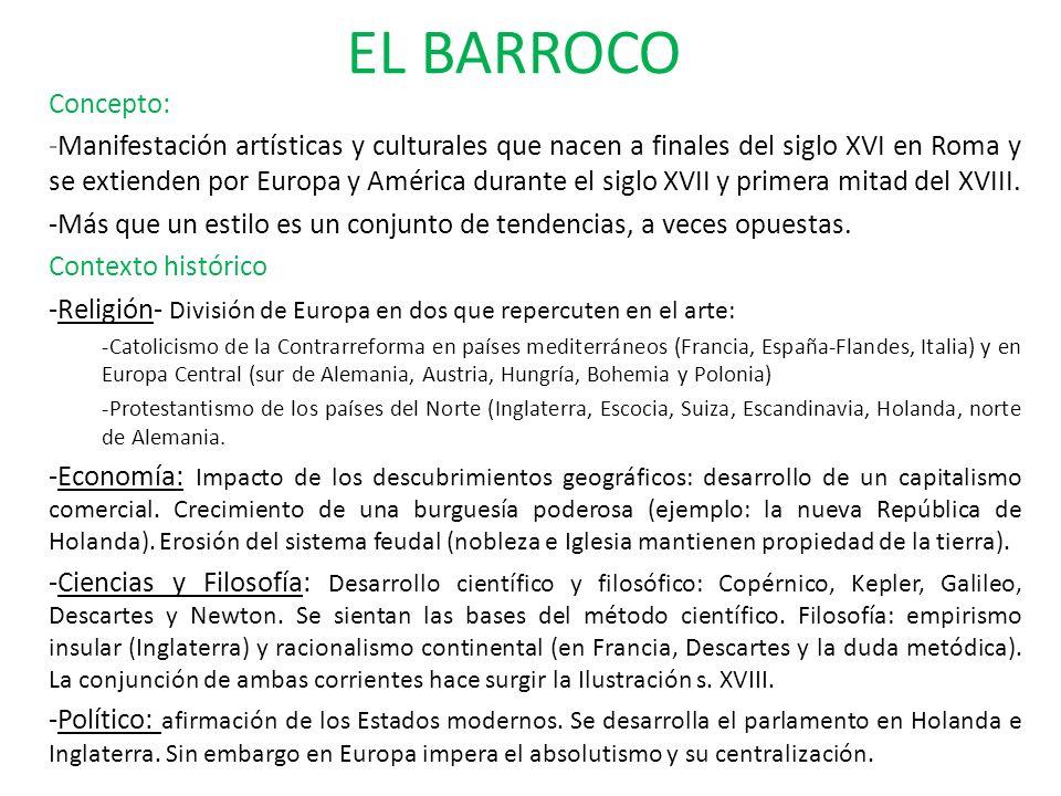 EL BARROCO Concepto: