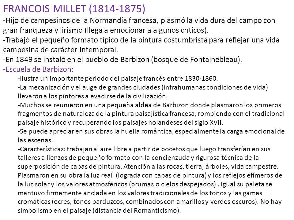 FRANCOIS MILLET (1814-1875)
