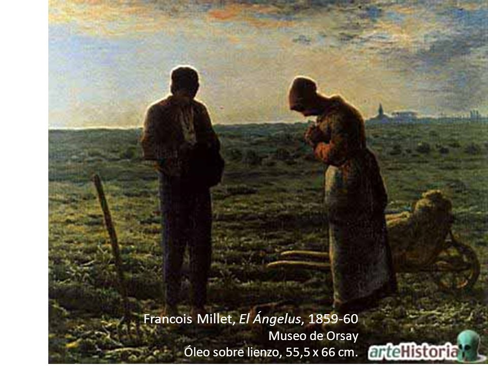 Francois Millet, El Ángelus, 1859-60