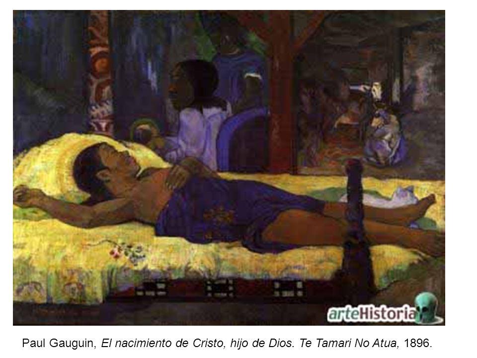 Paul Gauguin, El nacimiento de Cristo, hijo de Dios