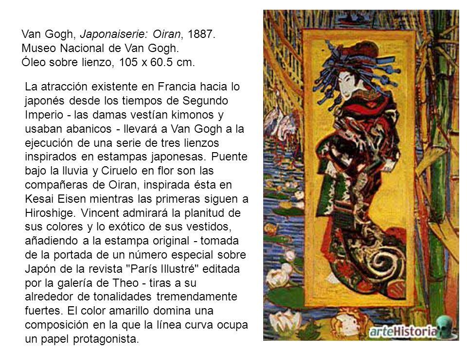 Van Gogh, Japonaiserie: Oiran, 1887.