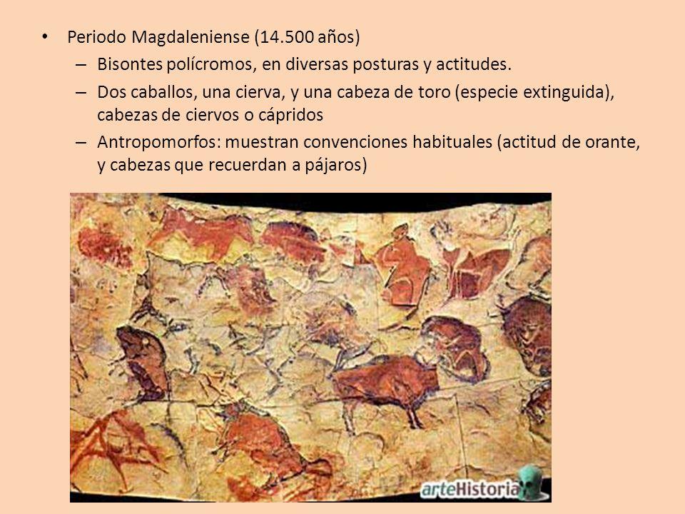 Periodo Magdaleniense (14.500 años)