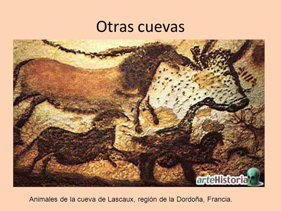 Otras cuevas Animales de la cueva de Lascaux, región de la Dordoña, Francia.