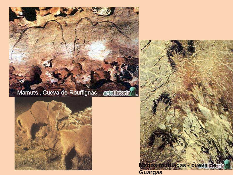 Mamuts , Cueva de Rouffignac