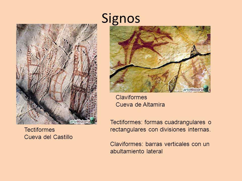 Signos Claviformes Cueva de Altamira