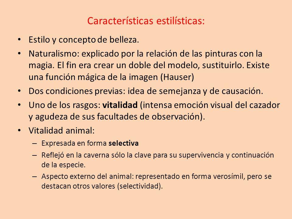 Características estilísticas: