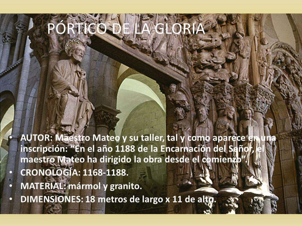 PÓRTICO DE LA GLORIA PÓRTICO DE LA GLORIA