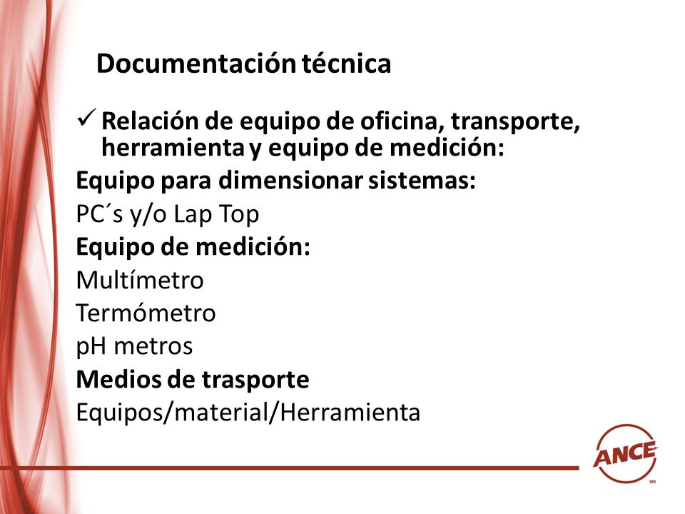 Documentación técnica