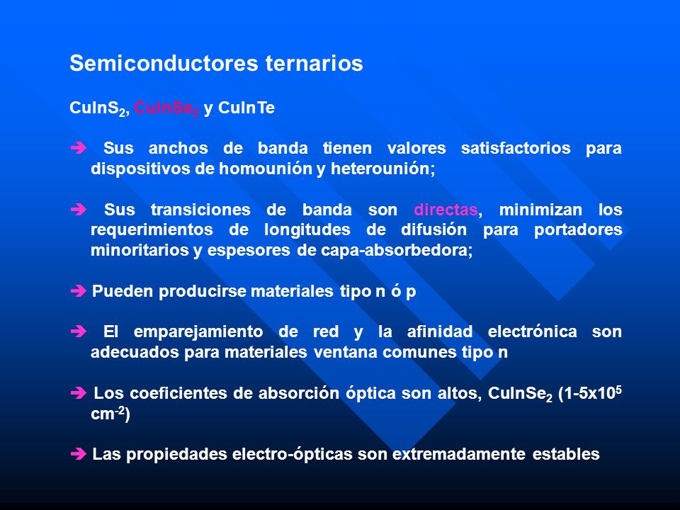 Semiconductores ternarios