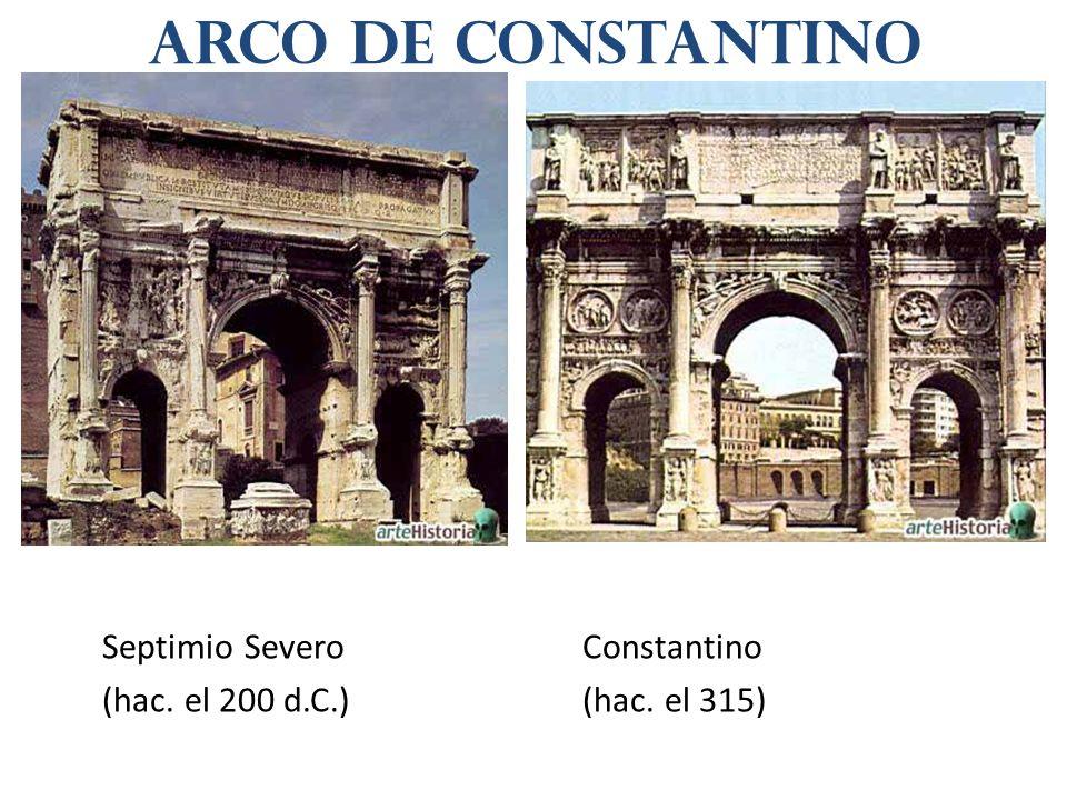 Arco de Constantino Septimio Severo Constantino