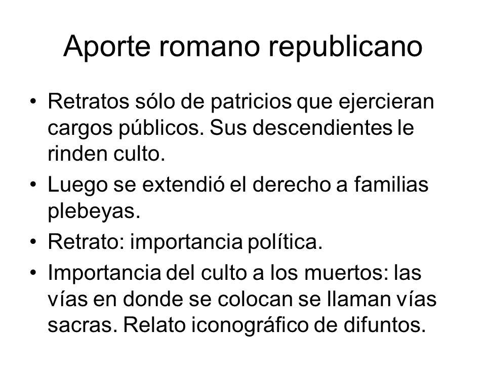 Aporte romano republicano