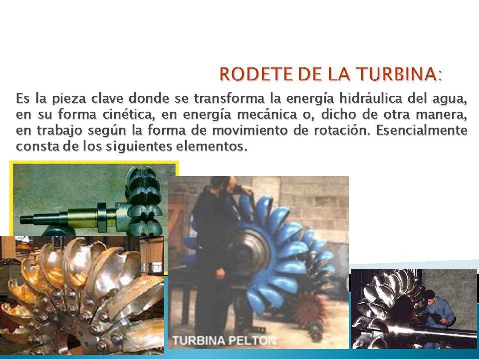 RODETE DE LA TURBINA: