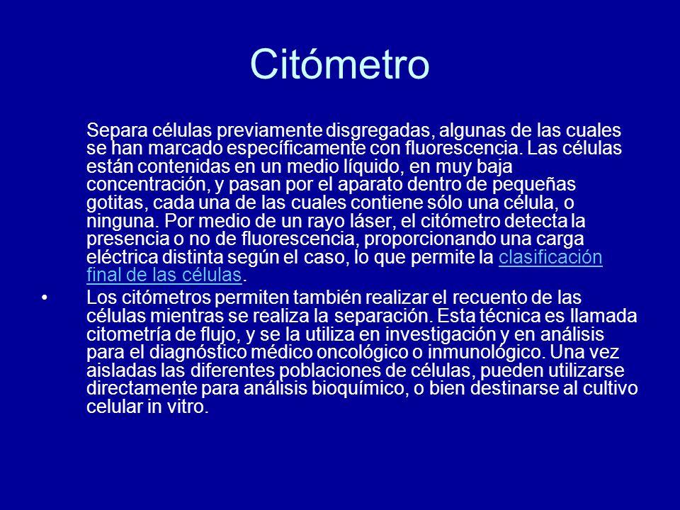 Citómetro