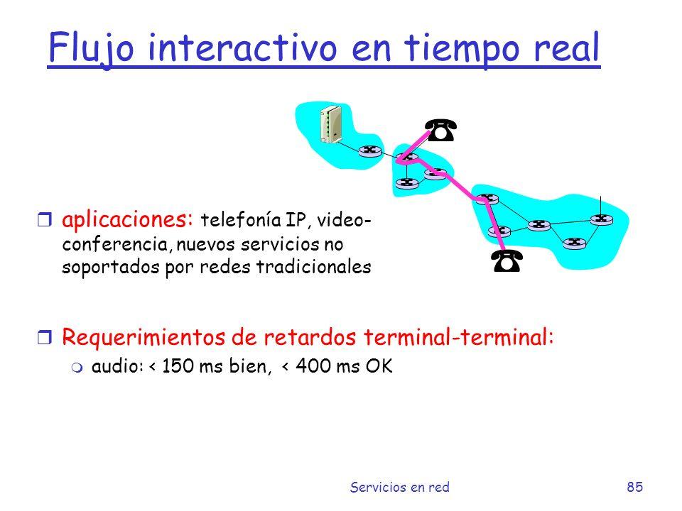 Flujo interactivo en tiempo real