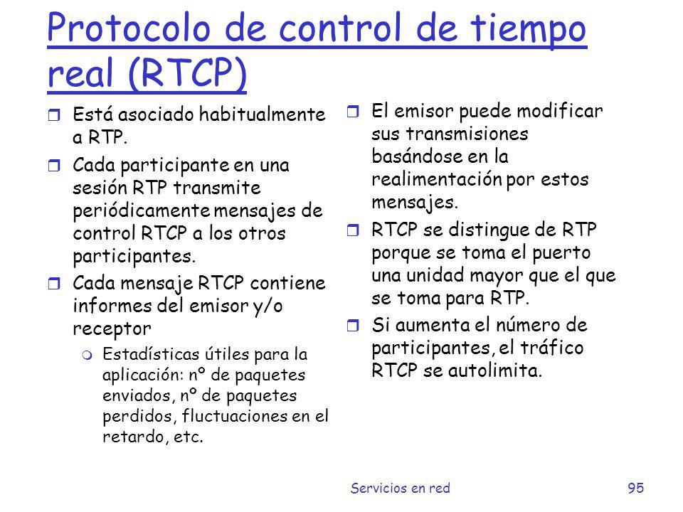 Protocolo de control de tiempo real (RTCP)