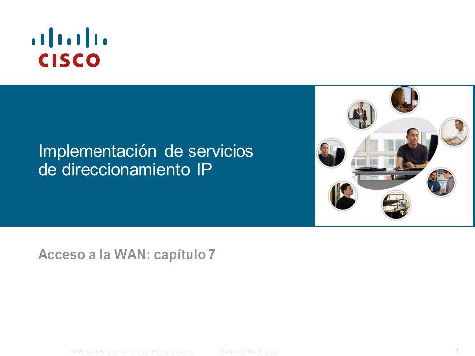 Implementación de servicios de direccionamiento IP