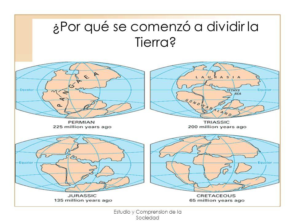 ¿Por qué se comenzó a dividir la Tierra