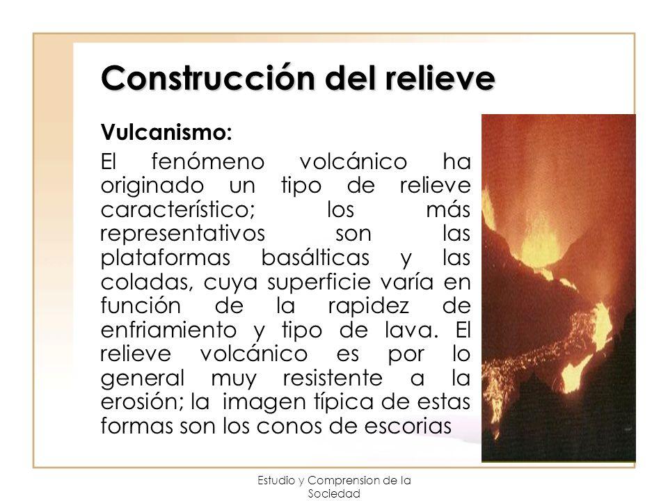 Construcción del relieve