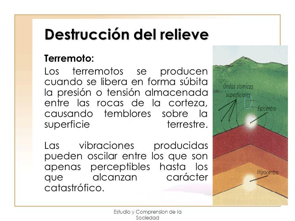 Destrucción del relieve