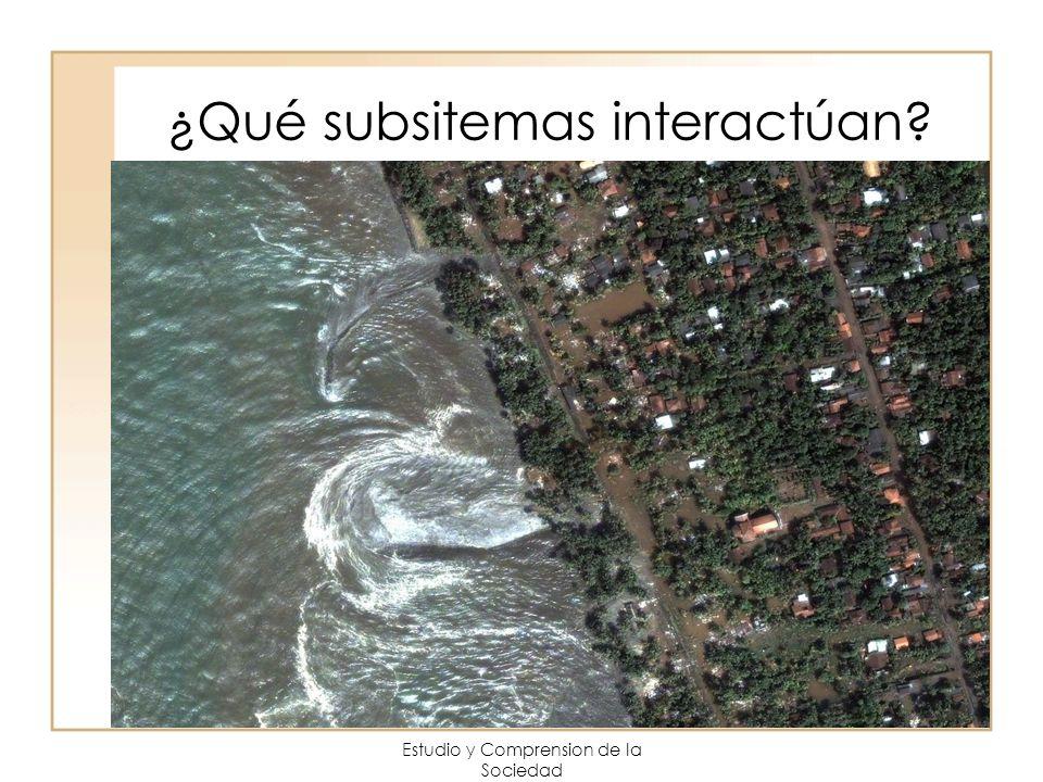 ¿Qué subsitemas interactúan