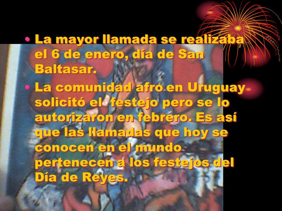 La mayor llamada se realizaba el 6 de enero, día de San Baltasar.