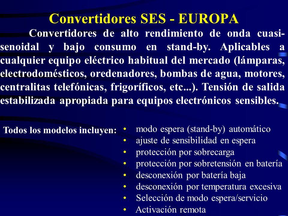 Convertidores SES - EUROPA