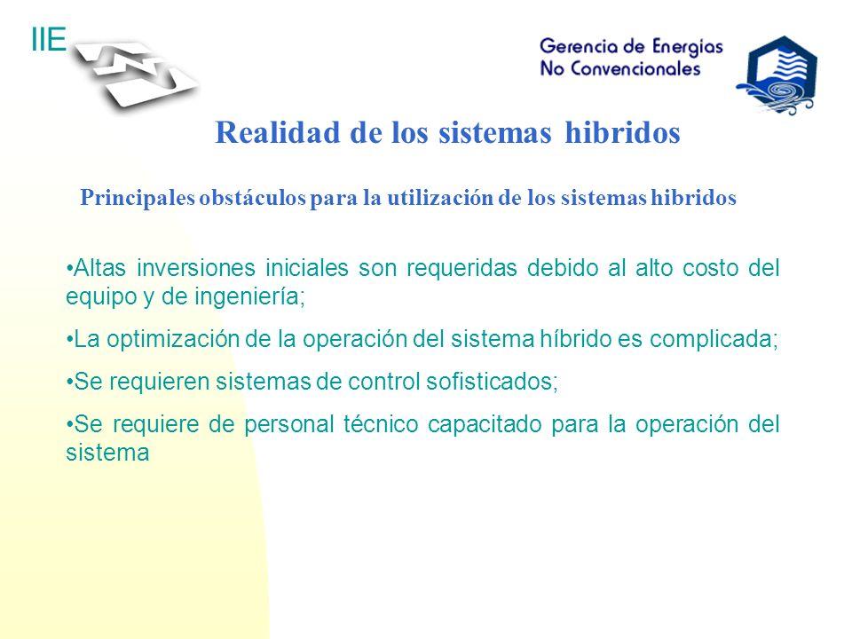 Realidad de los sistemas hibridos