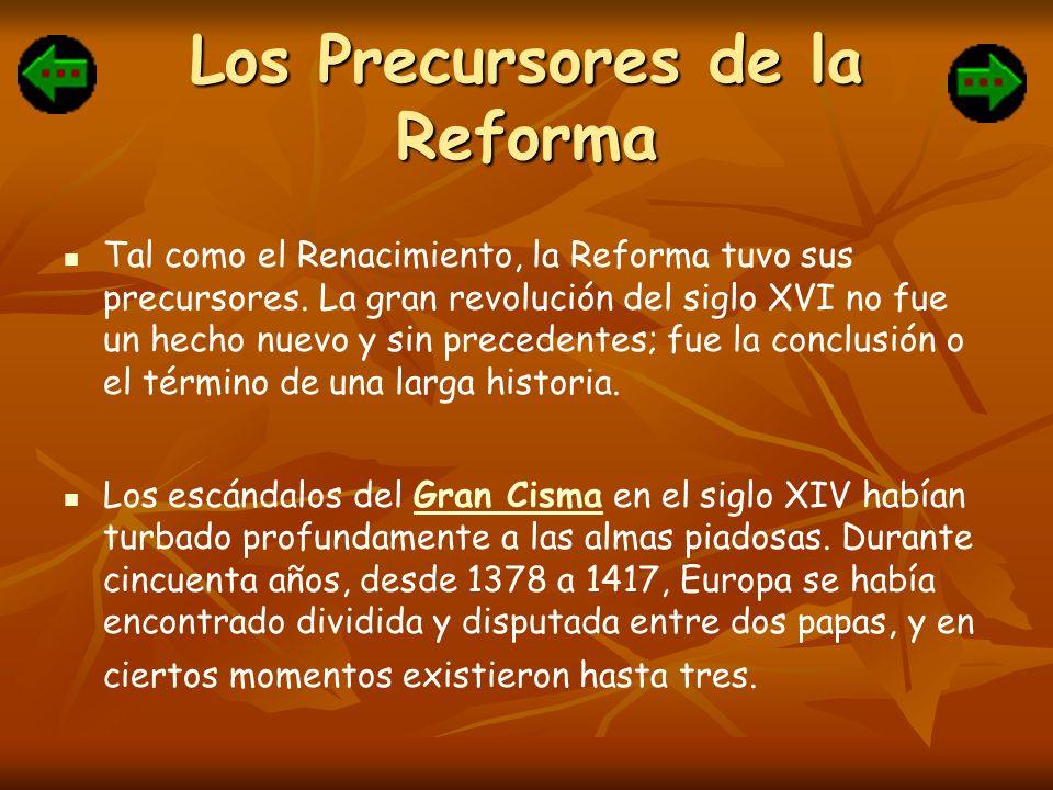 Los Precursores de la Reforma