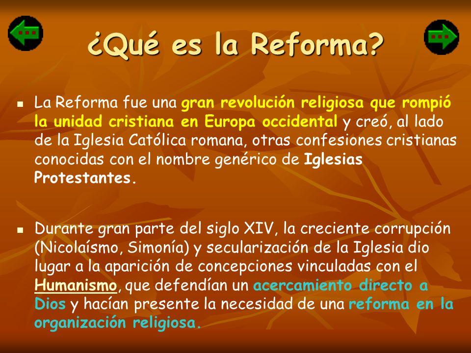 ¿Qué es la Reforma