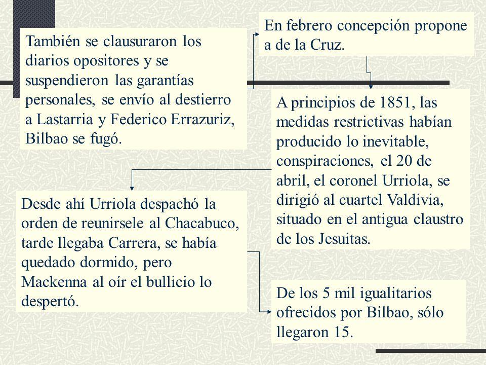 En febrero concepción propone a de la Cruz.