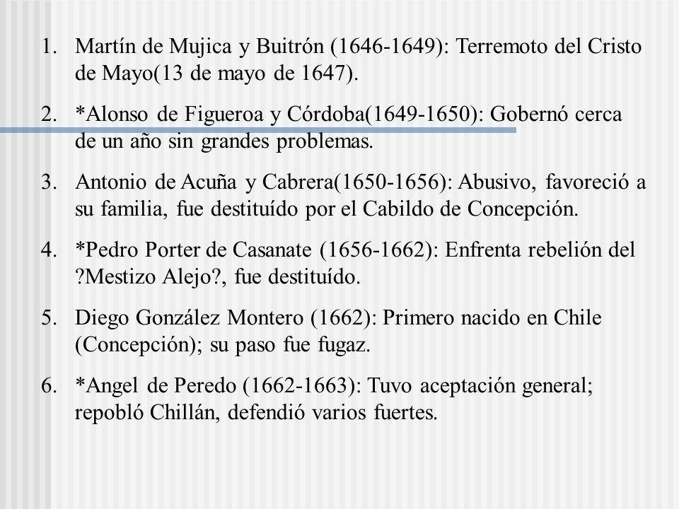 Martín de Mujica y Buitrón (1646-1649): Terremoto del Cristo de Mayo(13 de mayo de 1647).