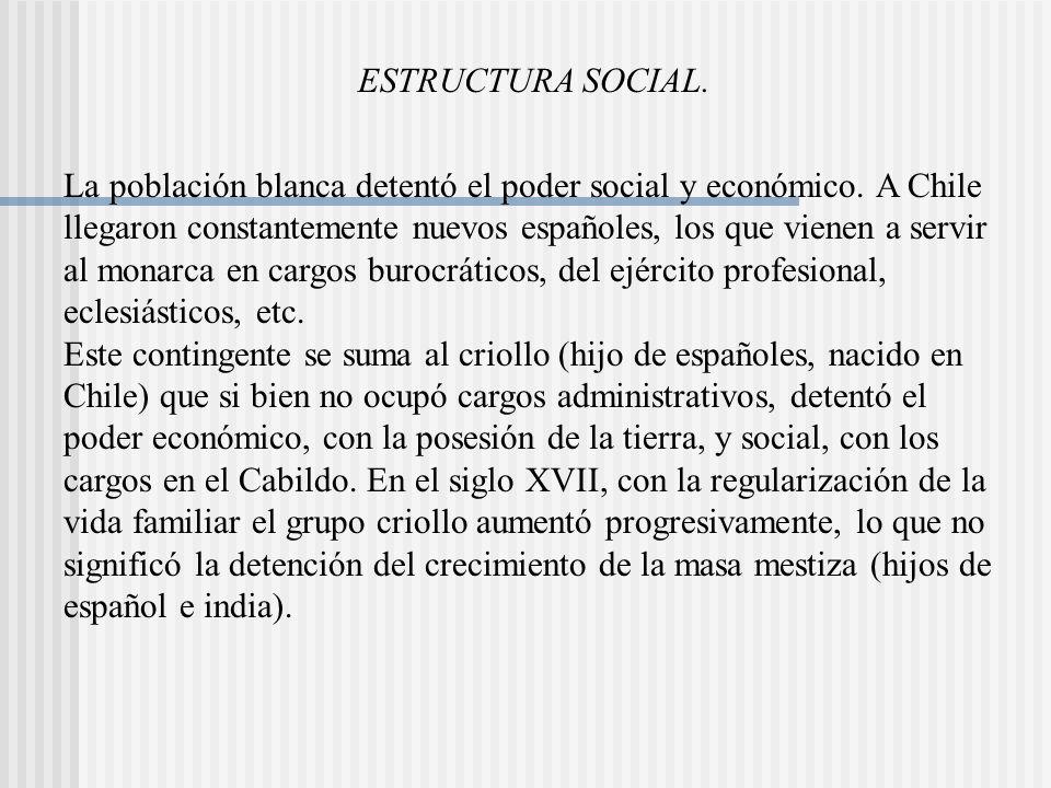 ESTRUCTURA SOCIAL.