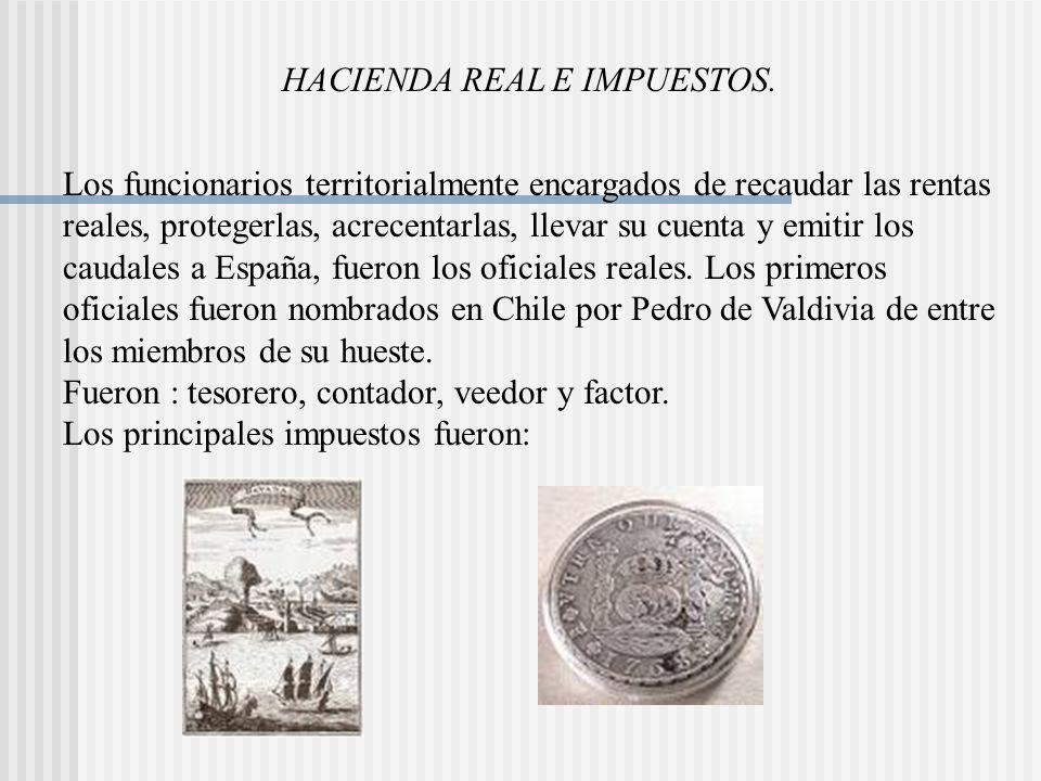 HACIENDA REAL E IMPUESTOS.